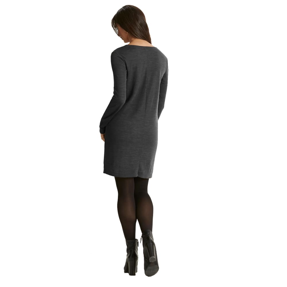 NAU Women's Randygoat Lite Shift Dress - CAVIAR HEATHER