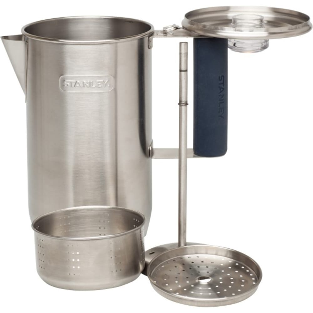 PACIFIC MARKET Adventure Percolator, 6 Cup - STAINLESS STEEL
