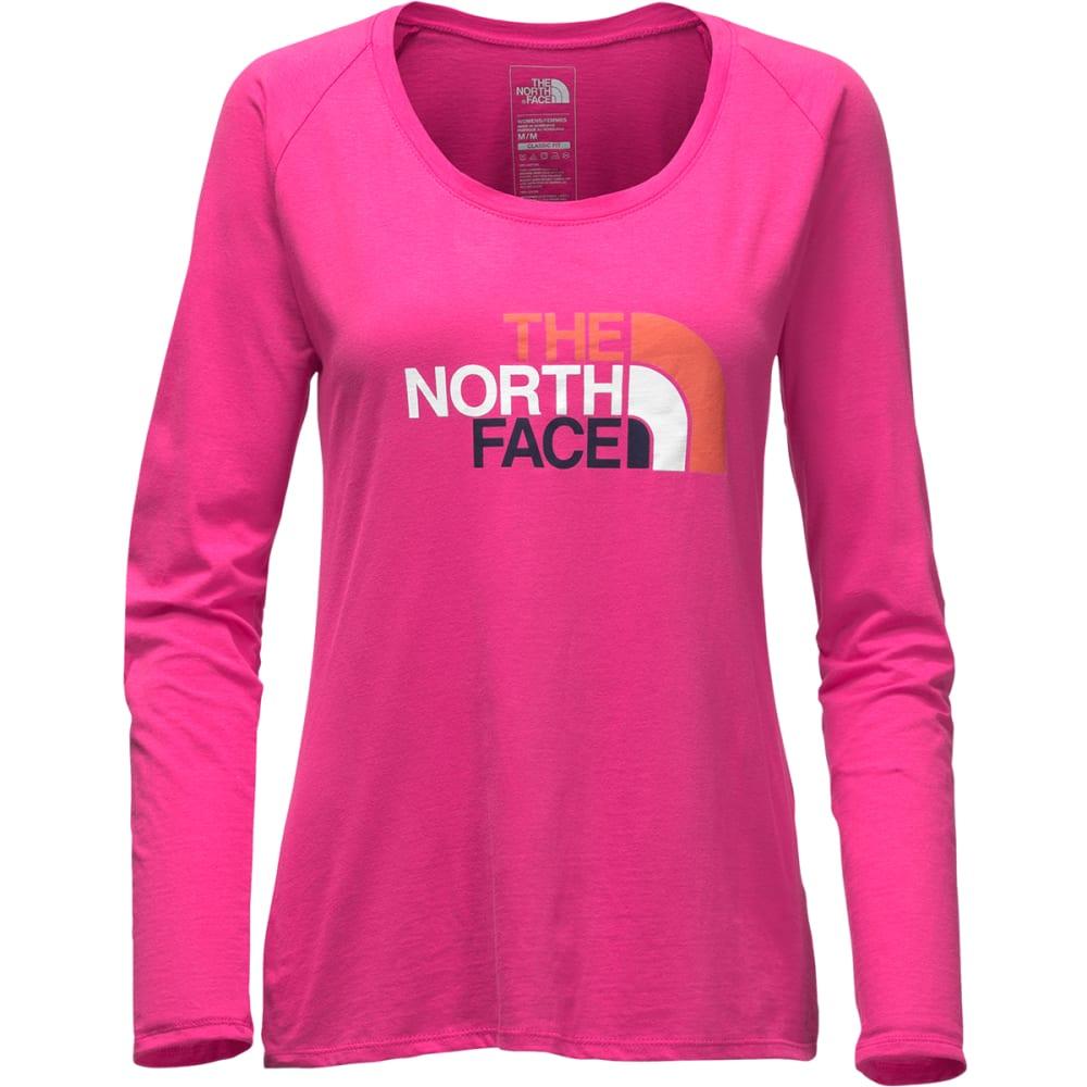 THE NORTH FACE Women's Half Dome Scoop-Neck Tee - HWC-CABARET PINK