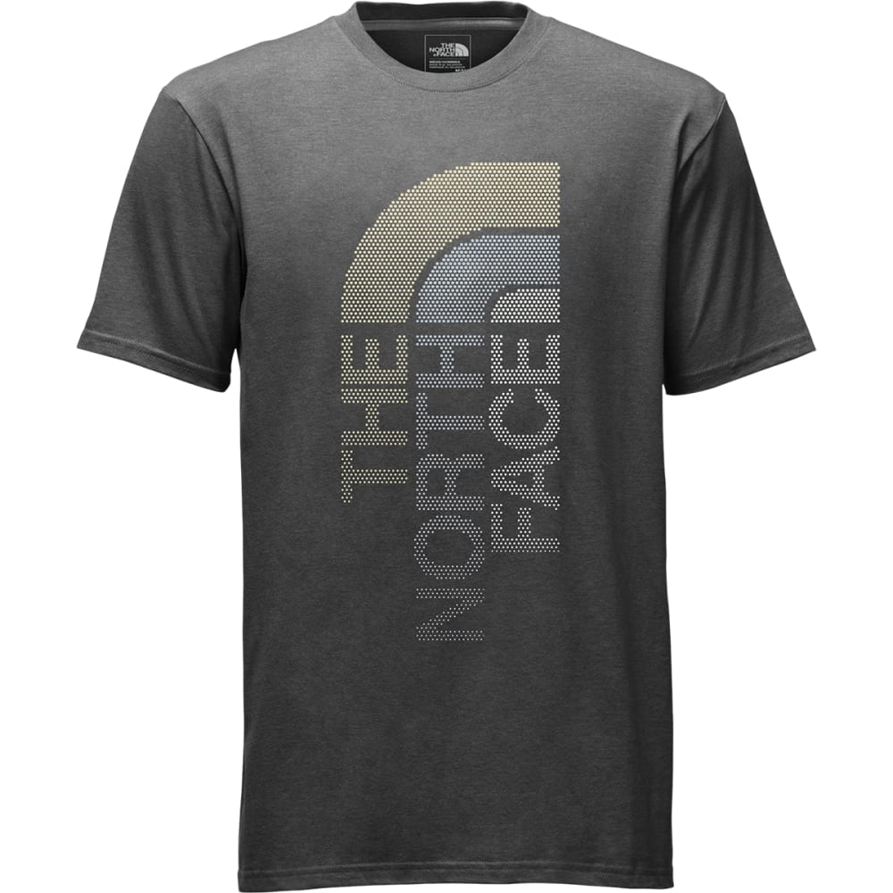 THE NORTH FACE Men's Trivert Short-Sleeve Logo Tee - DYZ-TNF DARK GRY