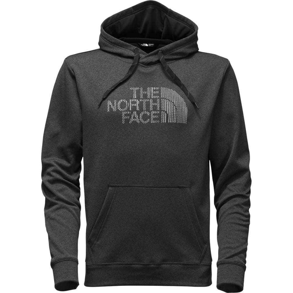 THE NORTH FACE Men's Surgent Rope Fill Hoodie - FLC-TNF DRK GREY