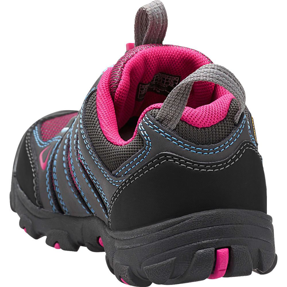 KEEN Kids' Oakridge WP Hiking Shoes, Magnet - MAGNET
