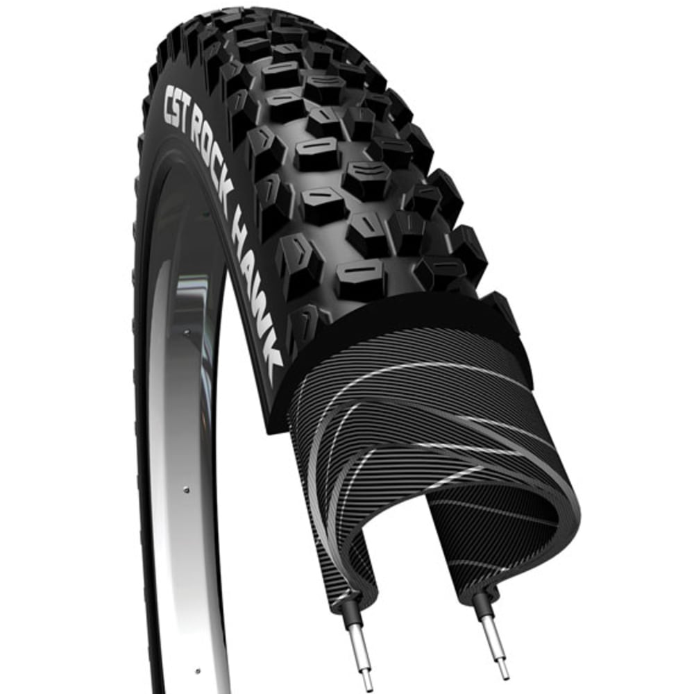 CST Rock Hawk Folding Tires, 2.9 x 2.25 in. - NO COLOR