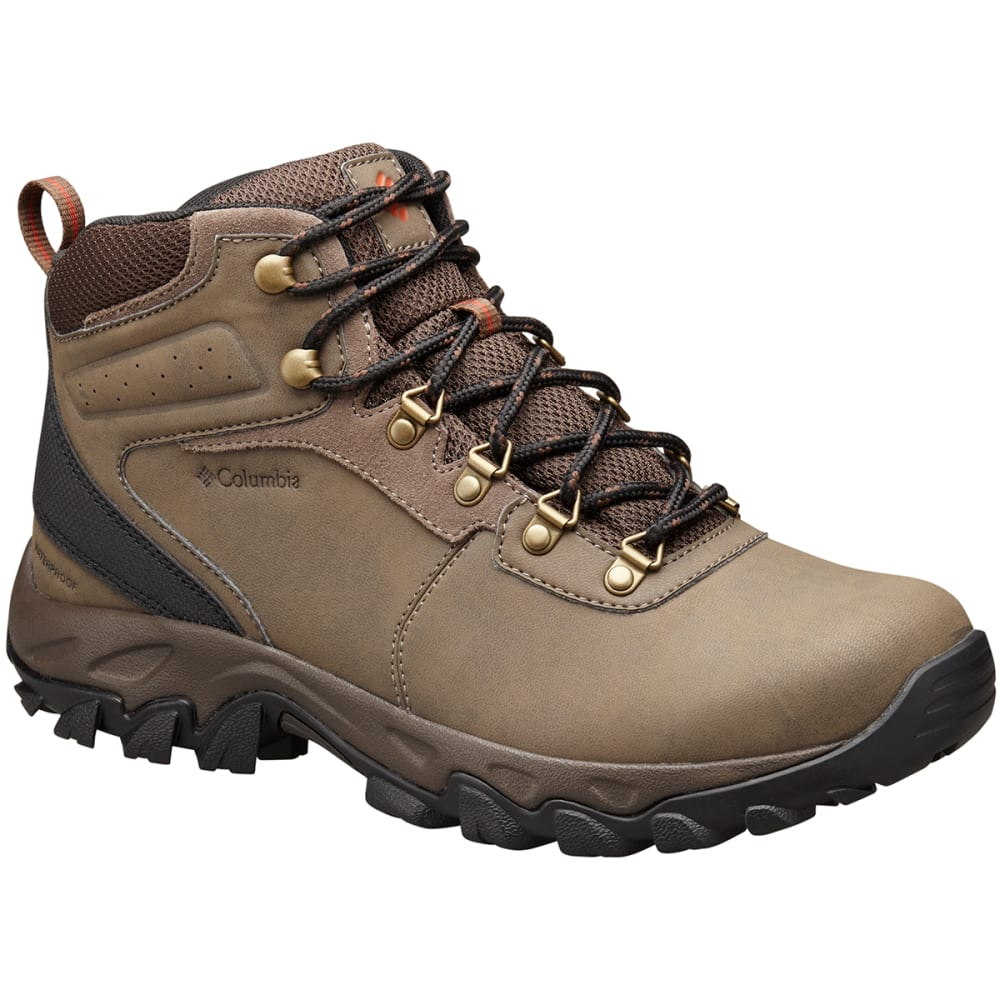 COLUMBIA Men's Newton Ridge Plus II Hiking Boots, Mud - MUD