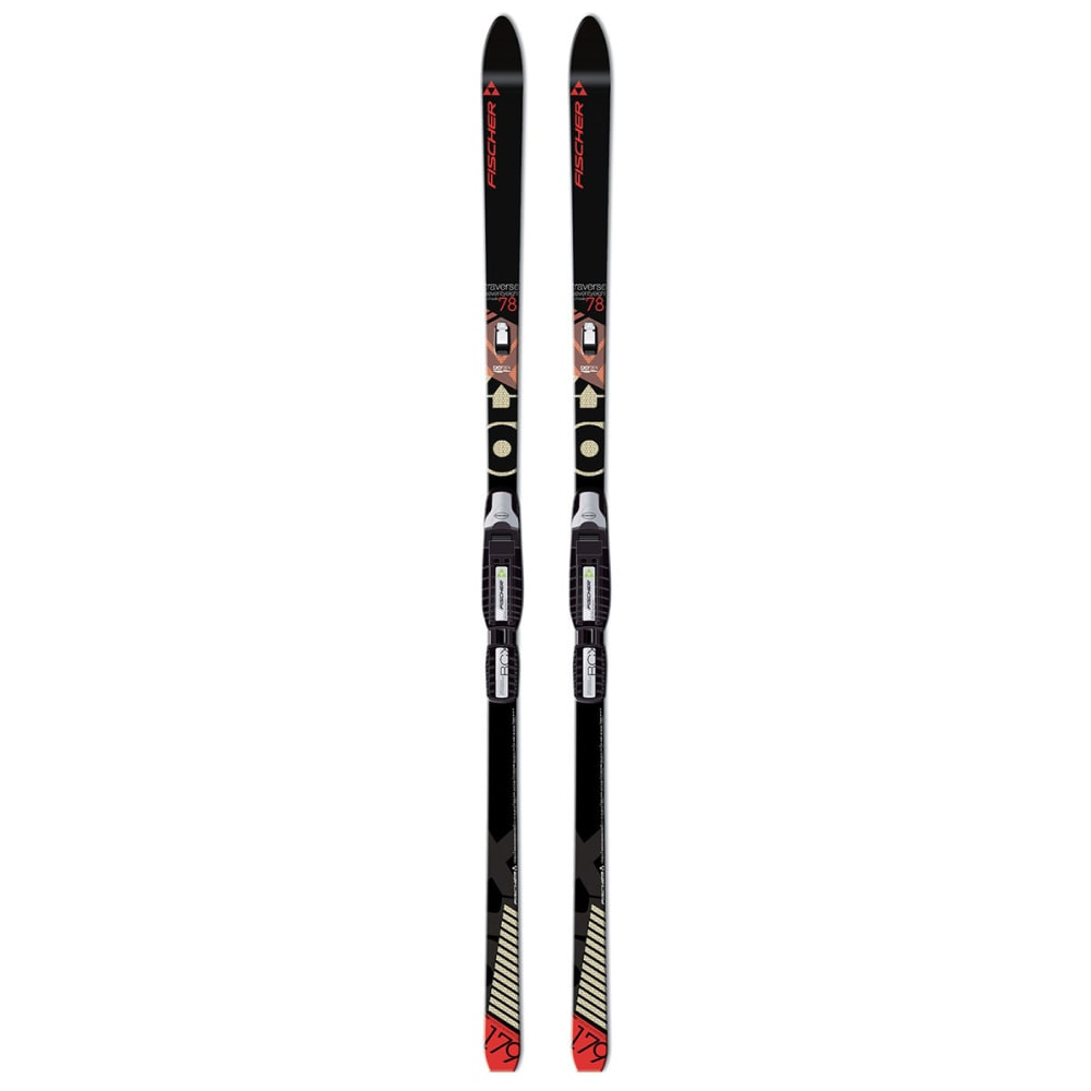 FISCHER Traverse 78 Crown Skis - NO COLOR