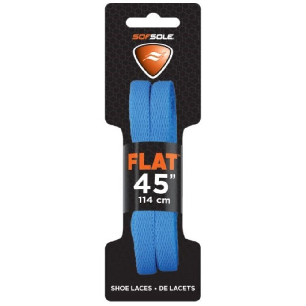SOF SOLE 45 in. Flat Athletic Shoe Laces ONE SIZE