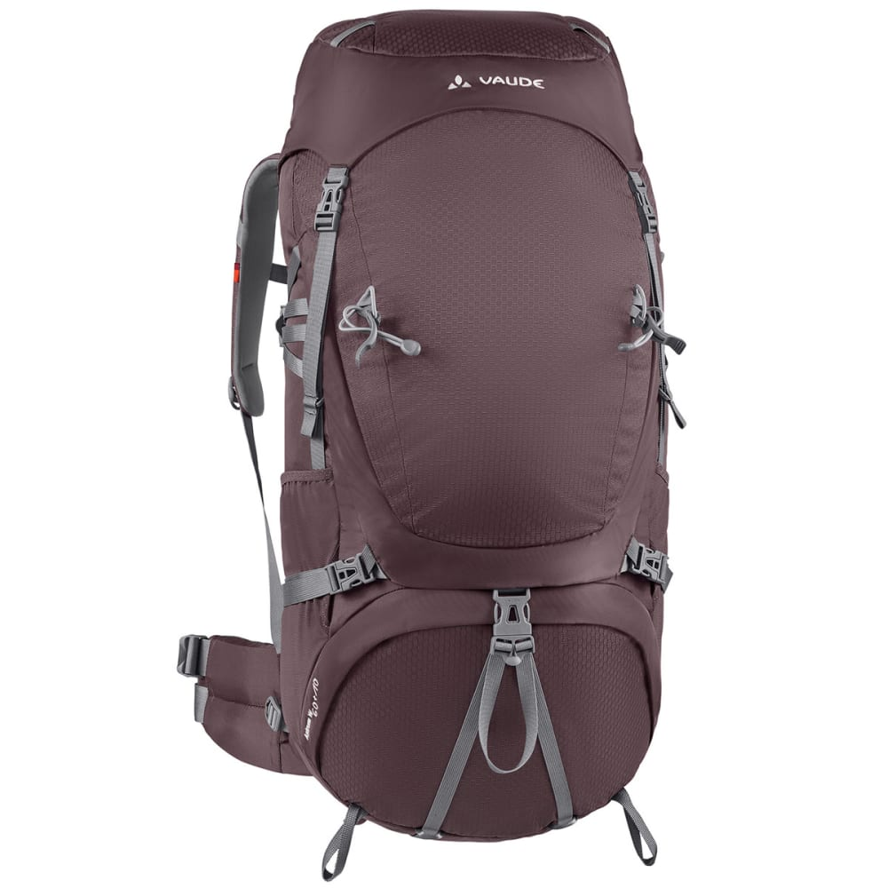 VAUDE Women's Astrum 60+10 Backpack - DARK PLUM