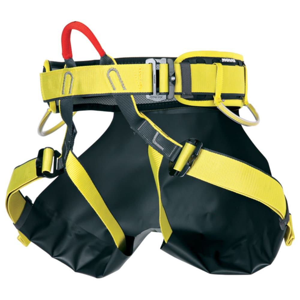 SINGING ROCK Canyon XP Harness - BLACK/YELLOW
