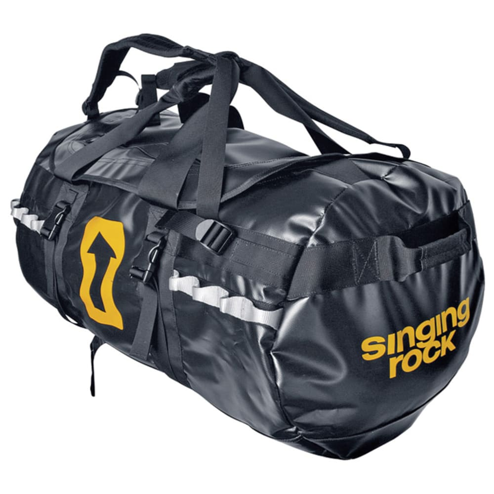 SINGING ROCK 70L Expedition Duffel Bag - BLACK