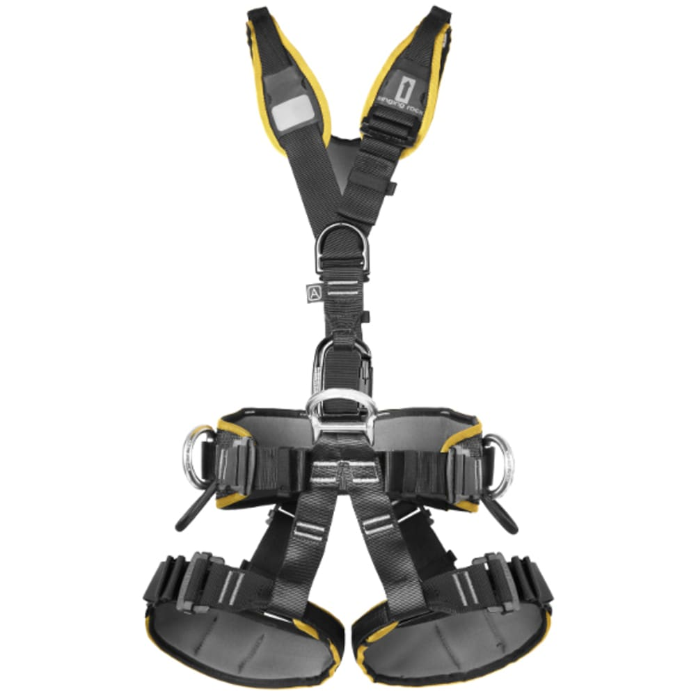 SINGING ROCK Expert III Easy Lock Harness - BLACK