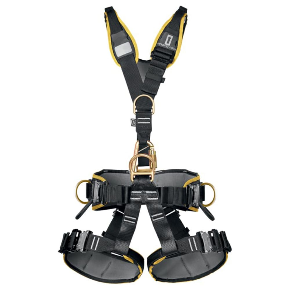 SINGING ROCK Expert III Steel SPD NFPA Harness - BLACK
