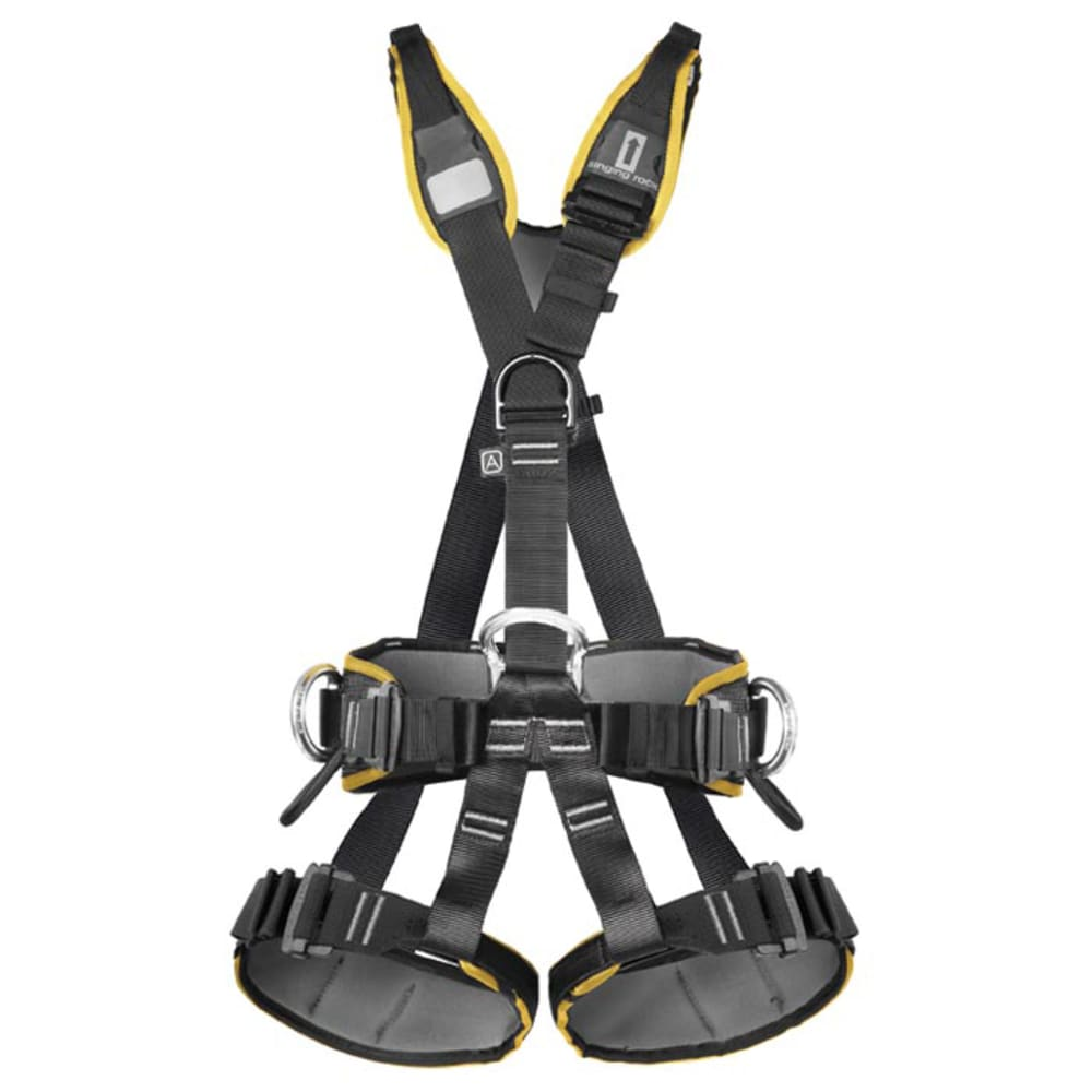 SINGING ROCK Profi Worker III Easy Lock Harness - BLACK