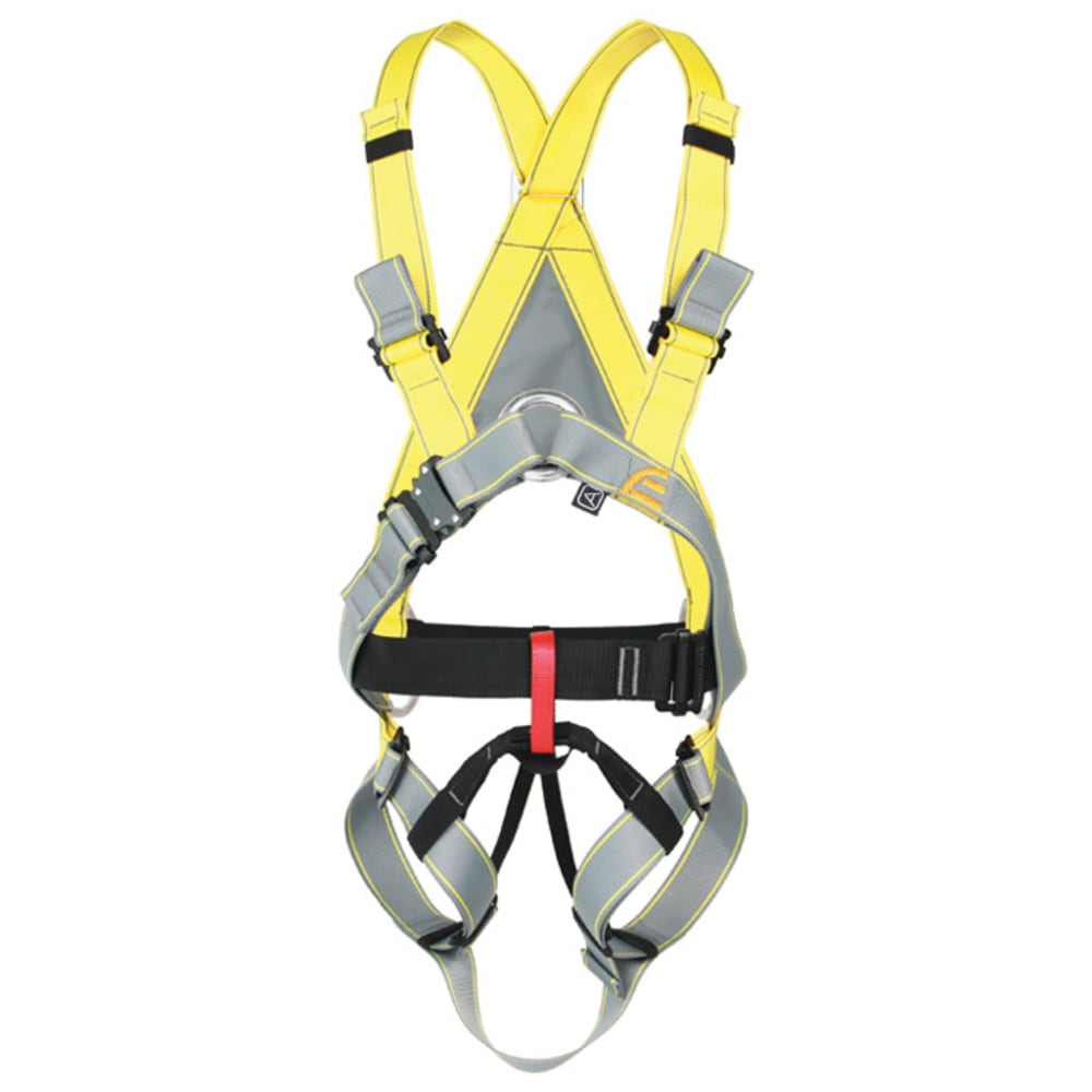 SINGING ROCK Rope Dancer II Harness, Small - GREY/YELLOW