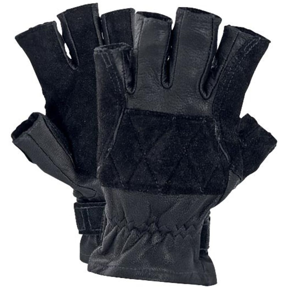 SINGING ROCK Verve 3/4 Gloves - BLACK