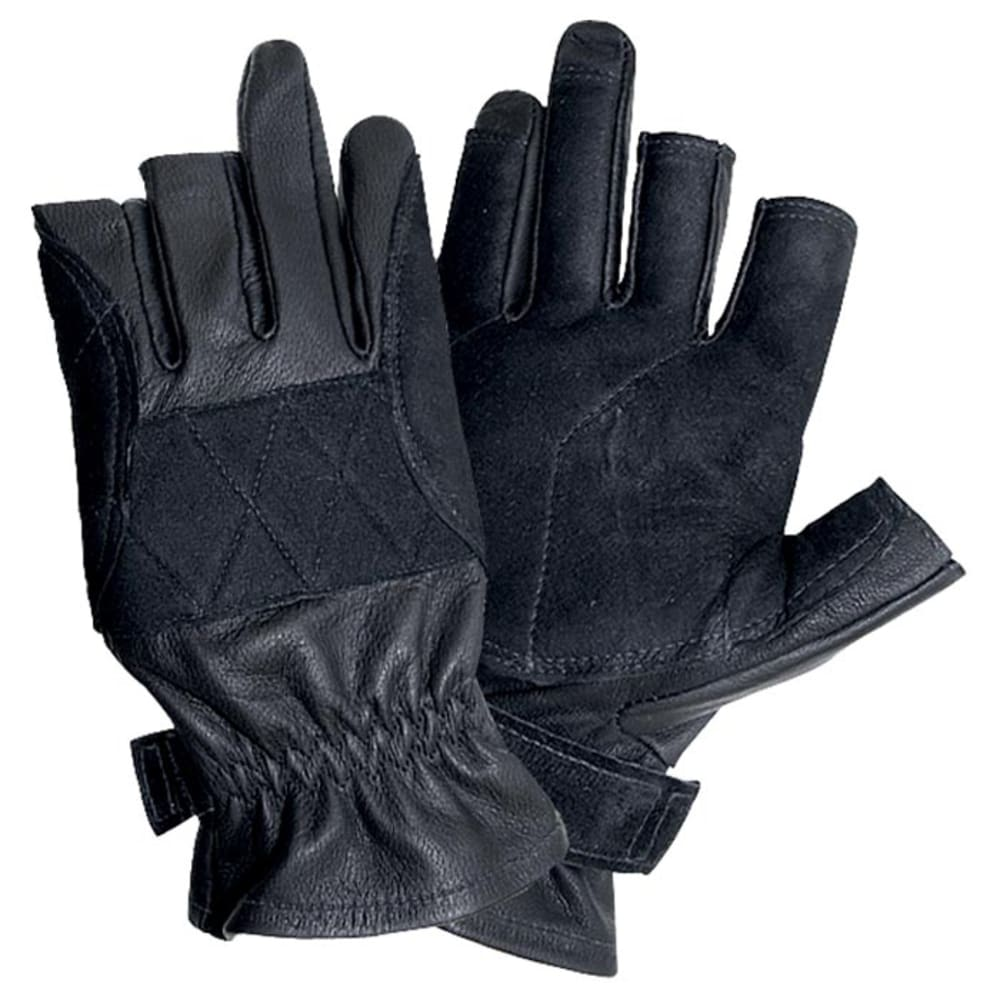 SINGING ROCK Verve Short Gloves - BLACK