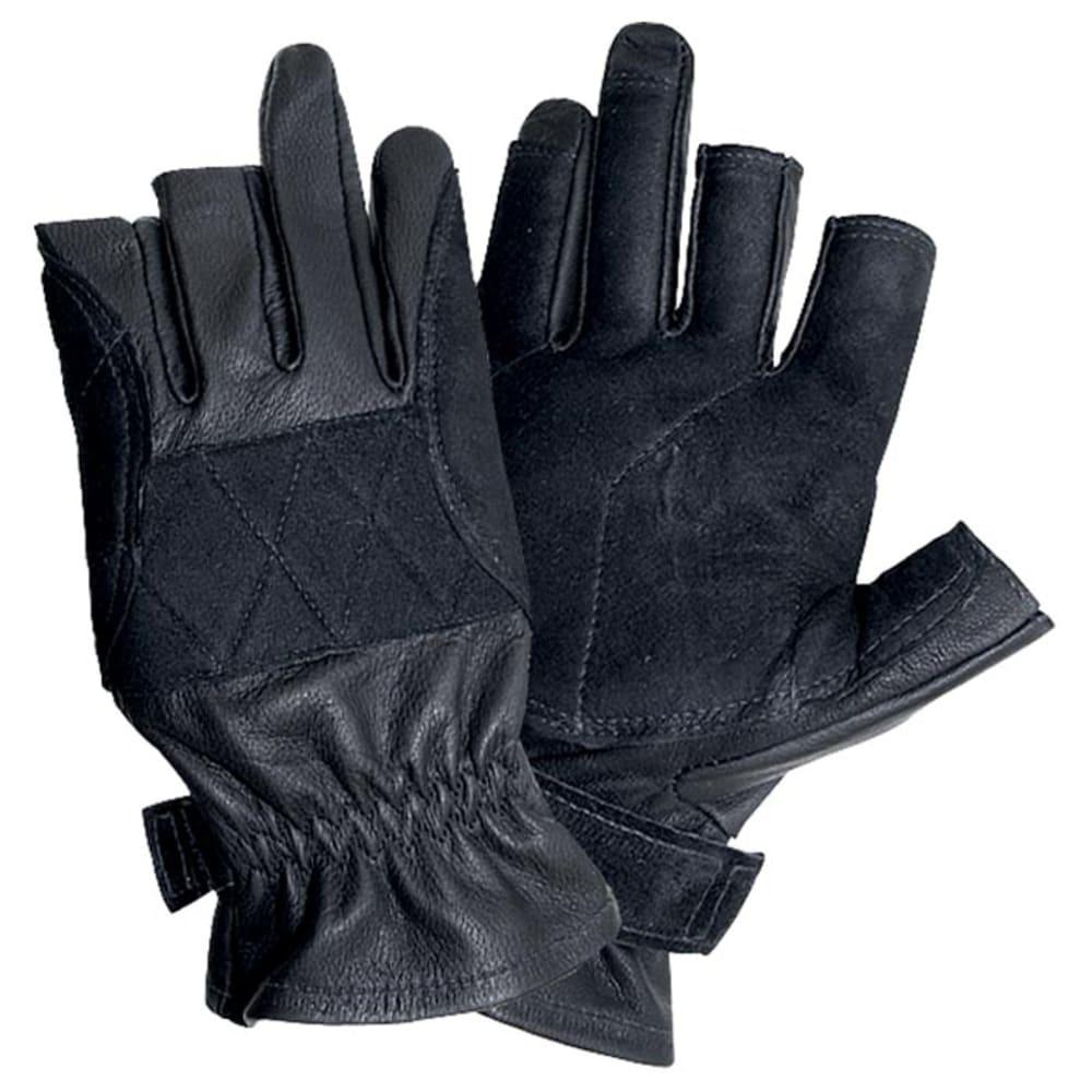 SINGING ROCK Verve Short Gloves - BLACK