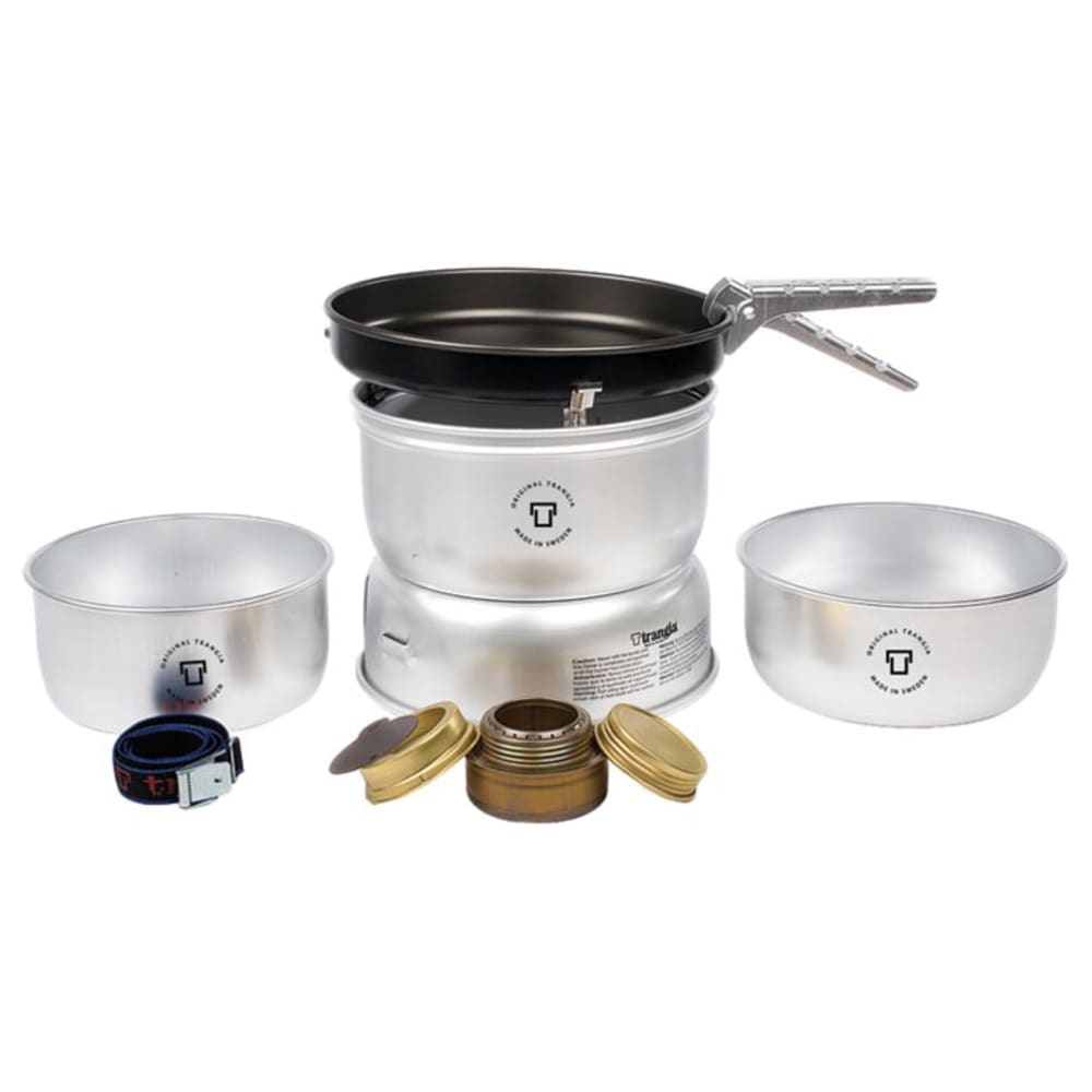 TRANGIA 25-3 Ultralight Alcohol Stove Kit with Spirit Burner - NO COLOR