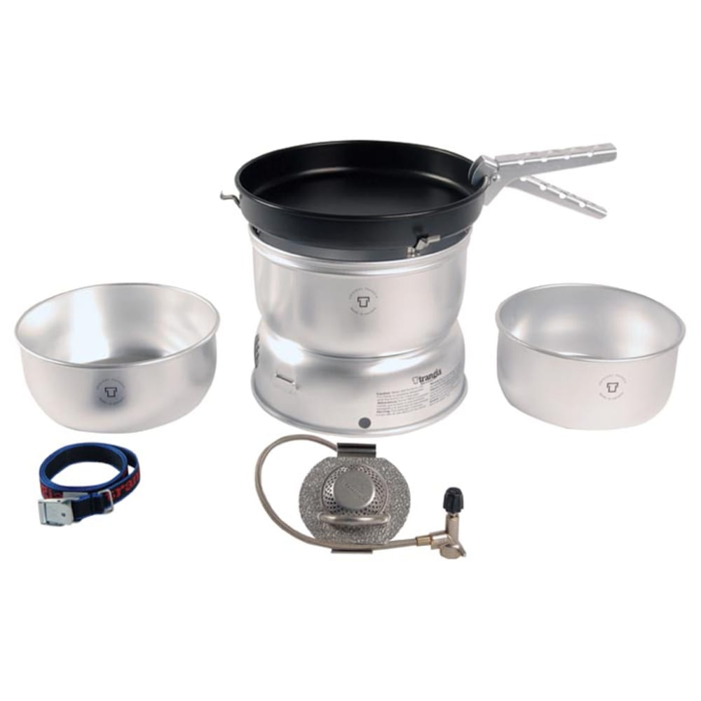 TRANGIA 25-3 Ultralight Stove Kit with Gas Burner - NO COLOR