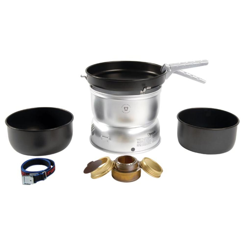 TRANGIA 25-5 Ultralight Non-Stick Alcohol Stove Kit - NO COLOR