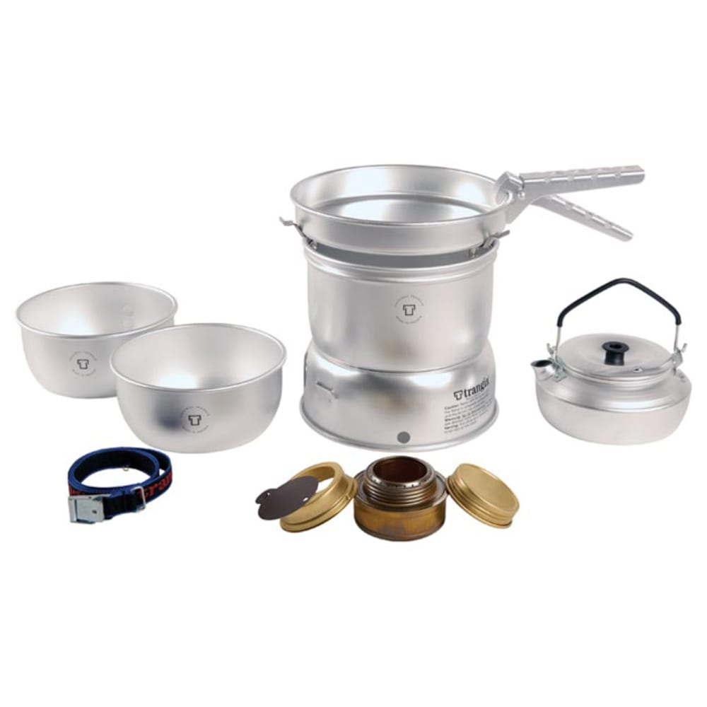 TRANGIA 27-2 Ultralight Alcohol Stove Kit with Kettle - NO COLOR
