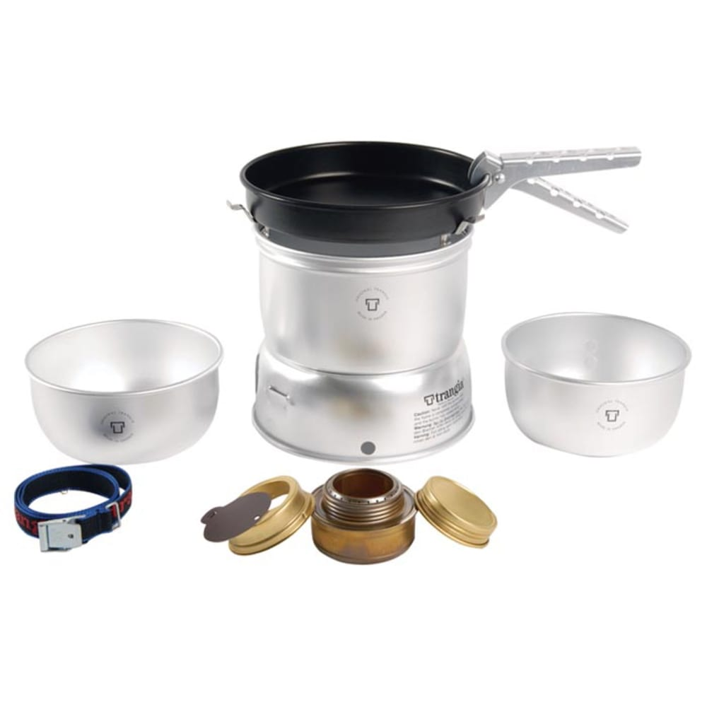 TRANGIA 27-3 Ultralight Stove Kit with Gas Burner - NO COLOR