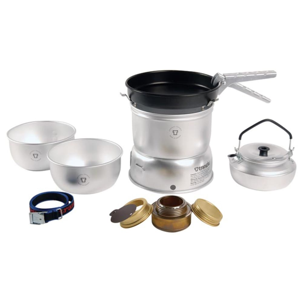 TRANGIA 27-4 Ultralight Alcohol Stove Kit with Kettle - NO COLOR