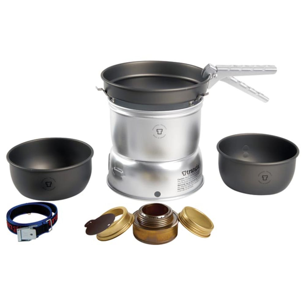TRANGIA 27-7 Hard Anodized Stove Kit with Gas Burner - NO COLOR