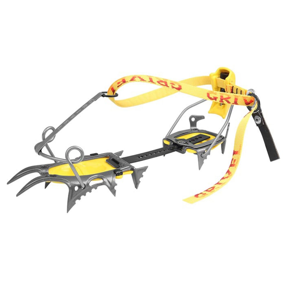 GRIVEL Air Tech Cramp-O-Matic Crampons - GREY/YELLOW