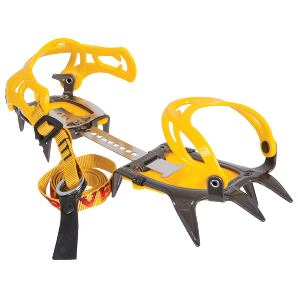GRIVEL G10 Wide New-Classic Crampons - YELLOW