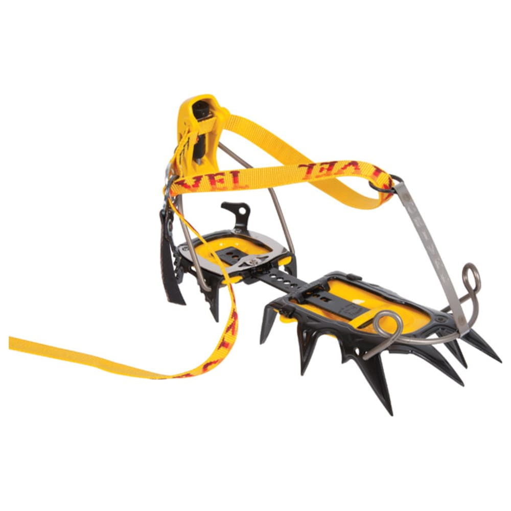 GRIVEL G12 Cramp-O-Matic Crampons - YELLOW