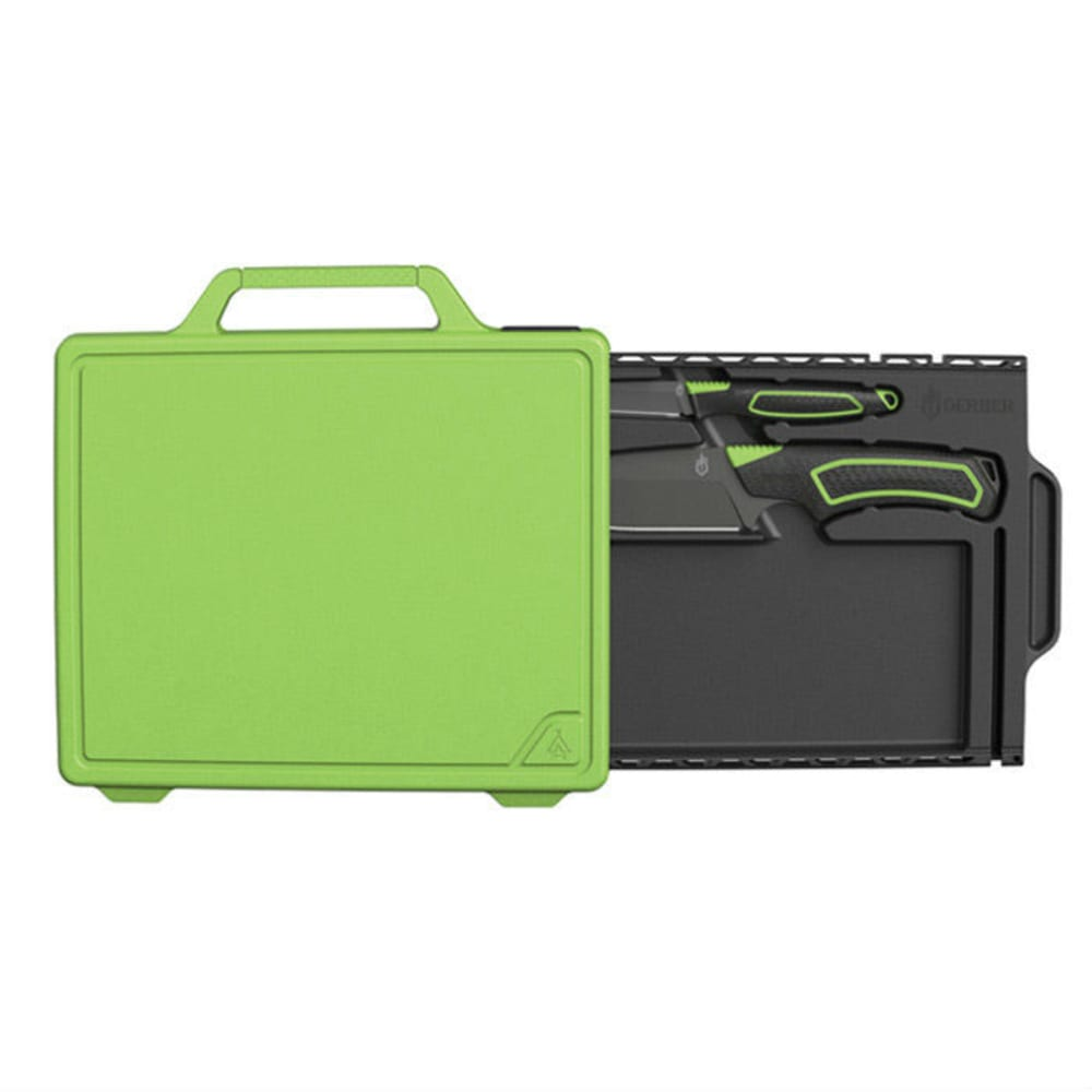 GERBER Freescape Camp Kitchen Kit - BLACK/GREEEN