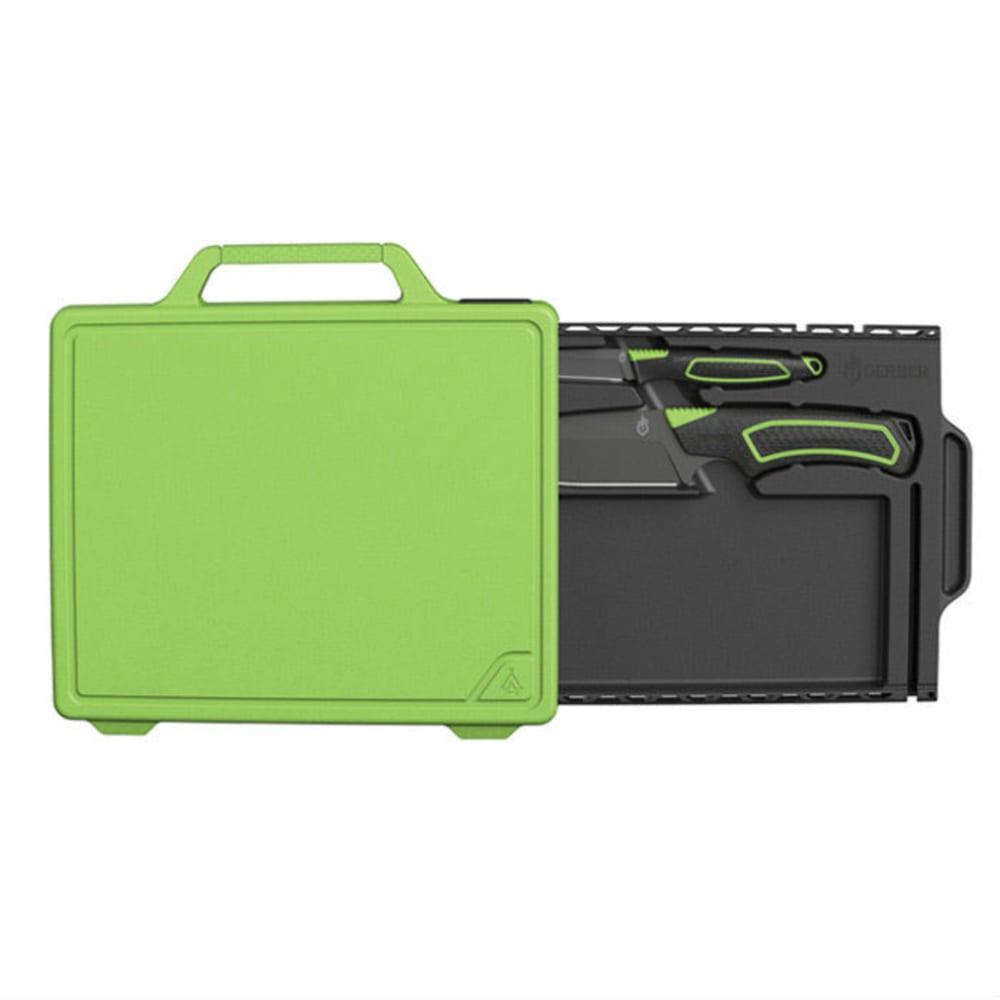 GERBER Freescape Camp Kitchen Kit - BLACK/GREEEN