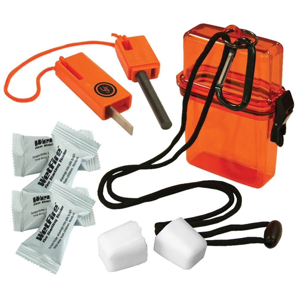 ULTIMATE SURVIVAL TECHNOLOGIES Fire Starter Kit 1.0 - ORANGE