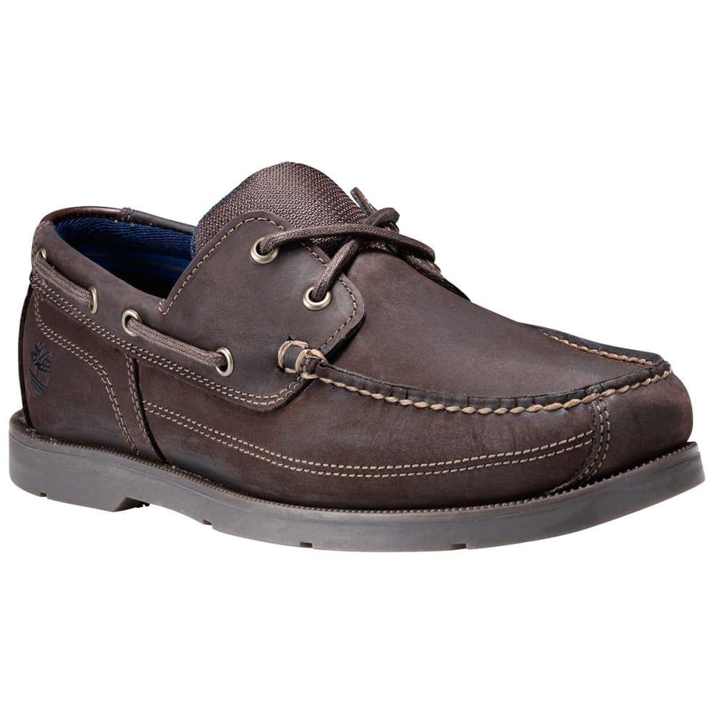 TIMBERLAND Men's Piper Cove Boat Shoes, Dark Brown - DARK BROWN