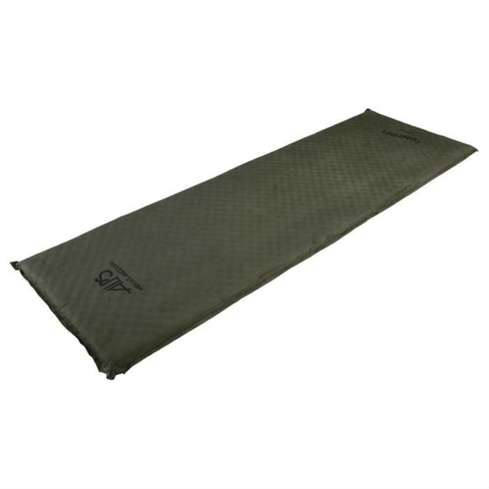 ALPS MOUNTAINEERING Comfort Series Self-Inflating Air Pad, Long - BROWN