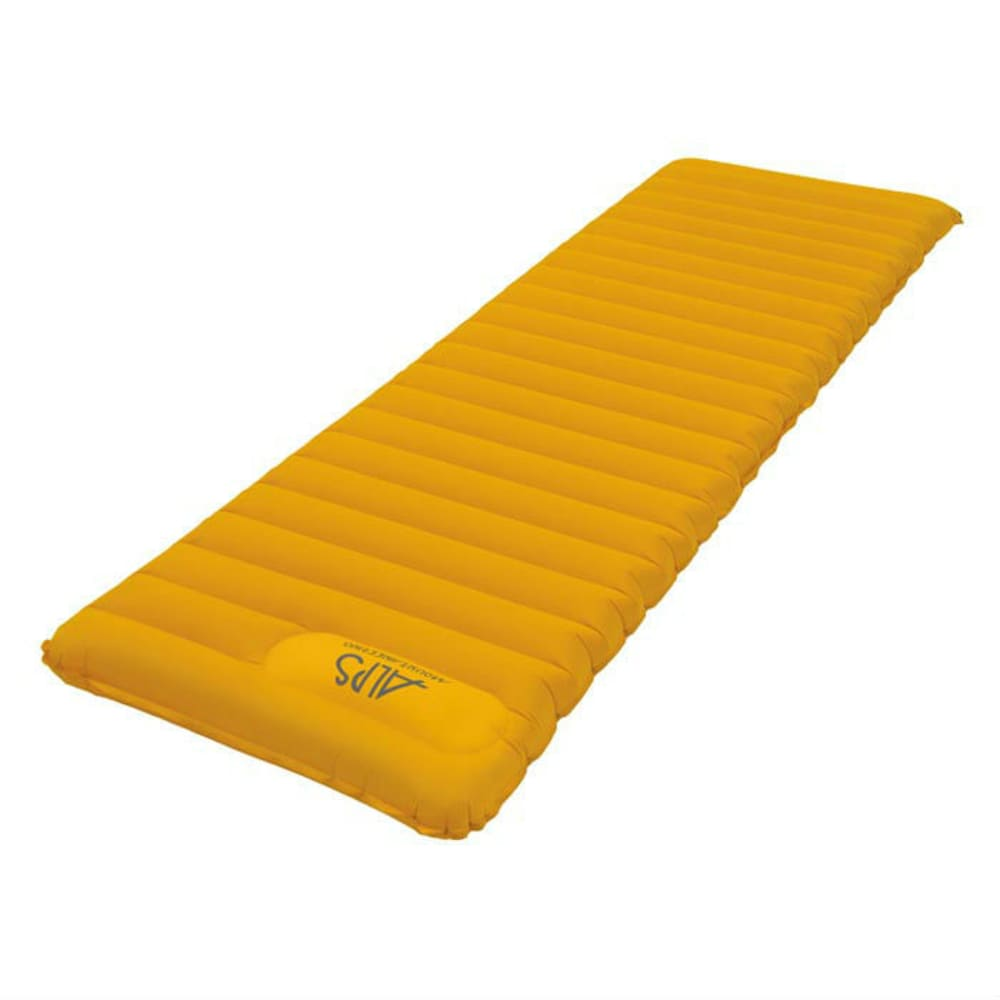 ALPS MOUNTAINEERING Featherlite Air Pad, Regular  - YELLOW