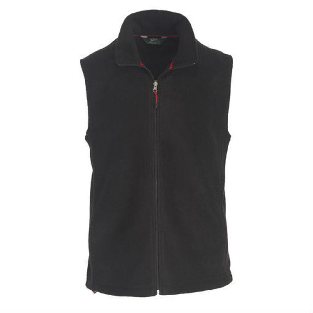 WOOLRICH Men's Andes II Fleece Vest - BLK-BLACK