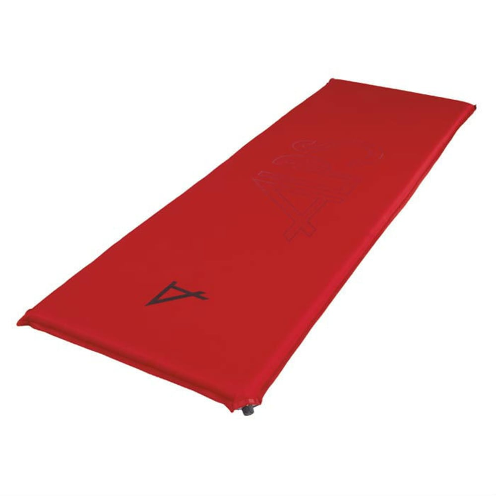ALPS MOUNTAINEERING Traction Series Air Pad, Long  - RED