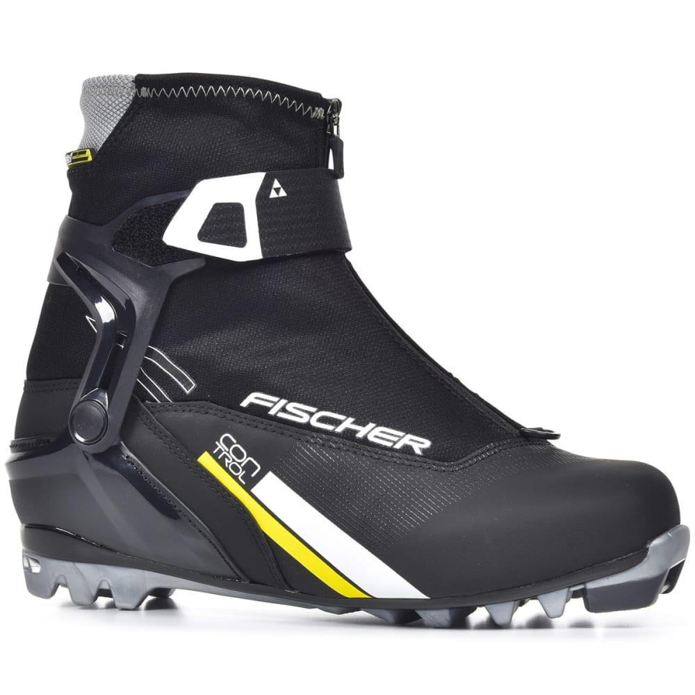 FISCHER Men's XC Control NNN Ski Boots - BLACK