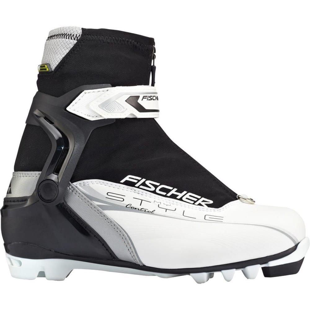 FISCHER Women's XC Control My Style NNN Ski Boots, 2016 - WHITE/BLACK