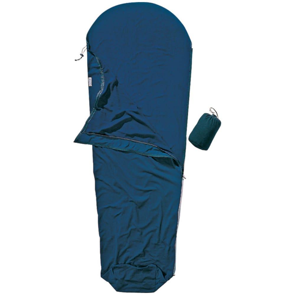 COCOON MummyLiner Silk Muddy Elephant - BLUE