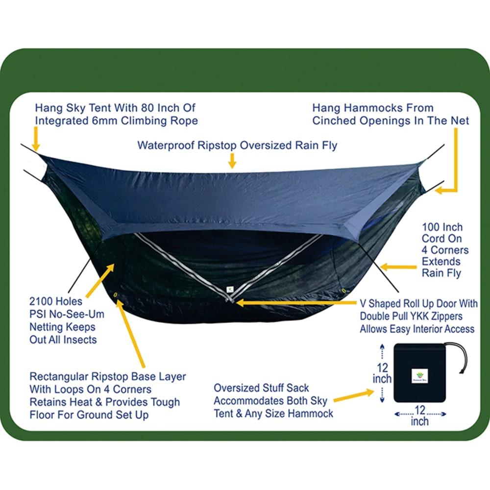 HAMMOCK BLISS Sky Tent 2 - BLUE