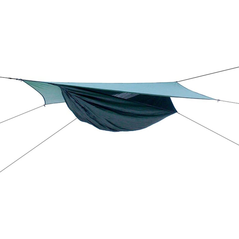 HENNESSY HAMMOCK Expedition Asym Zip Hammock - GREEN