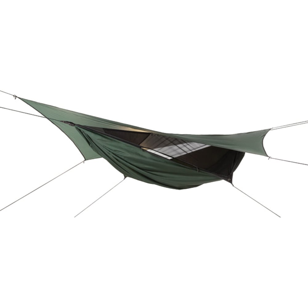 HENNESSY HAMMOCK Jungle Expedition Zip Hammock - GREEN