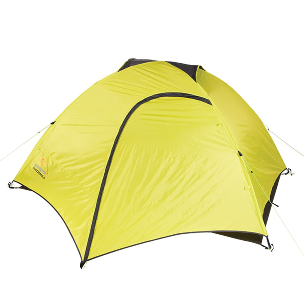 PEREGRINE Radama 4 Person Tent - LIME/GREY