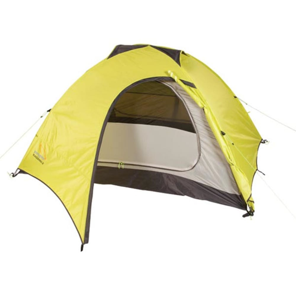 PEREGRINE Radama 4 Person Tent - LIME/GREY