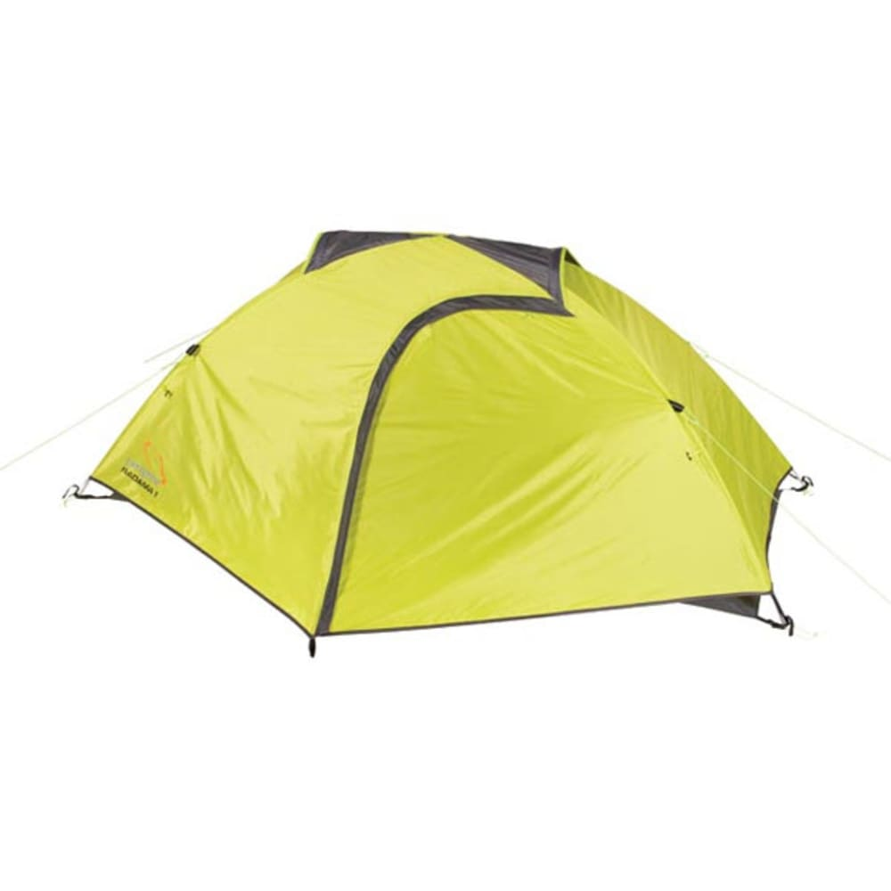 PEREGRINE Radama 1 Person Tent + Footprint Combo - LIME/GREY