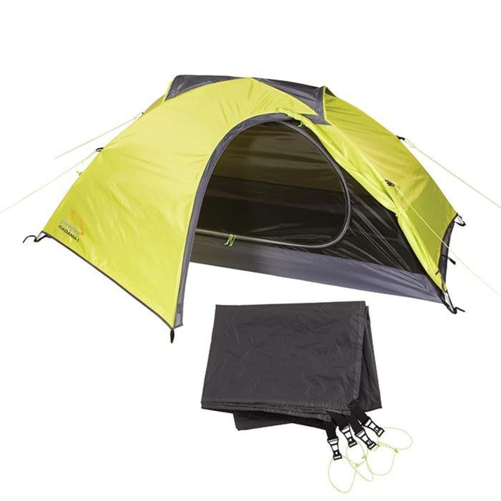 PEREGRINE Radama 1 Person Tent + Footprint Combo - LIME/GREY  sc 1 st  Eastern Mountain Sports & PEREGRINE Radama 1 Person Tent + Footprint Combo - Eastern ...
