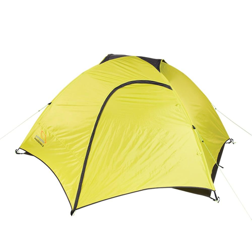 PEREGRINE Radama 3 Person Tent + Footprint Combo - LIME/GREY