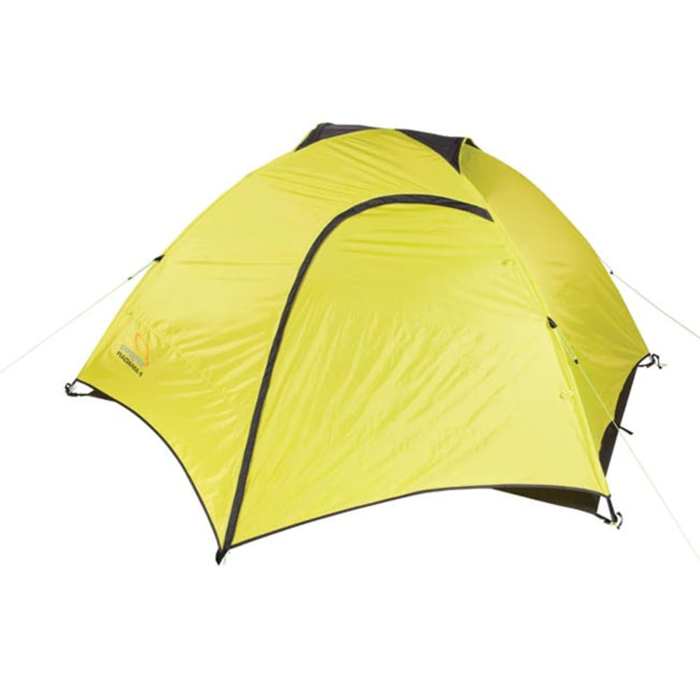 PEREGRINE Radama 4 Person Tent + Footprint Combo - LIME/GREY